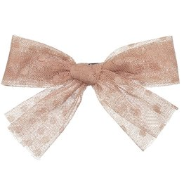 Knot Knot Brushed Petite Bow Clip