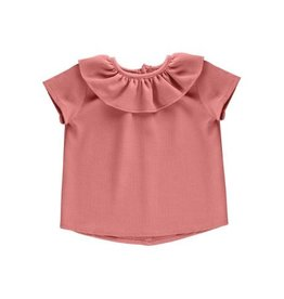 Petals & Peas Petals and Peas Essential Spring Ruffle Top