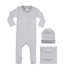 Parni Parni Striped Onesie K073