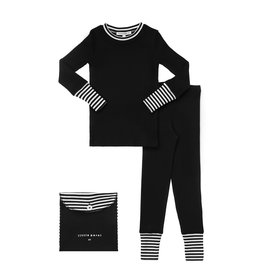 Parni Parni Striped Cuff Pajamas K078