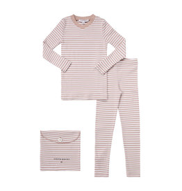 Parni Parni Girls Striped Pajamas K072