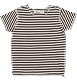 Coco Blanc Urbani Thin Stripe Crew Short Sleeve Tee