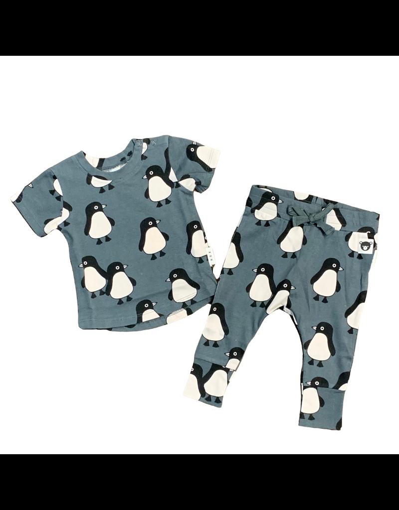 Huxbaby Hux Penguin March Drop T-Shirt and Pants Set
