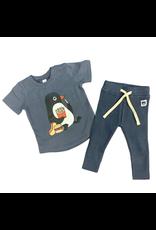 Huxbaby Hux Penguin T-Shirt w/ Rib Leggings