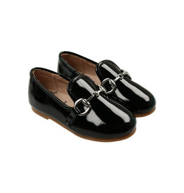 Zeebra Zeebra Patent Leather Buckle Loafer