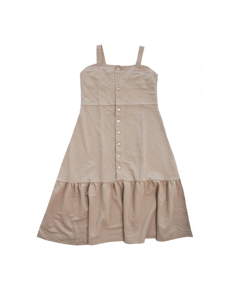 Crew CK Classics Button Maxi Dress