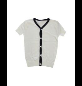 Kipp Kipp Short Sleeve Cardigan