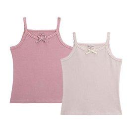 Petit Clair Petit Clair Girls Undershirt UND2-SET7/Pnk