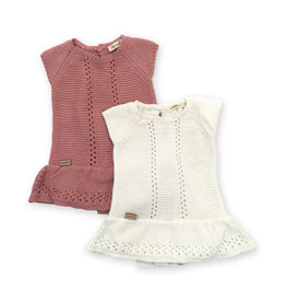 Fragile! Fragile baby Knit Overall