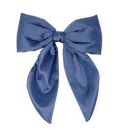 Bandeau Bandeau Silk Bow Padded Statement Clip