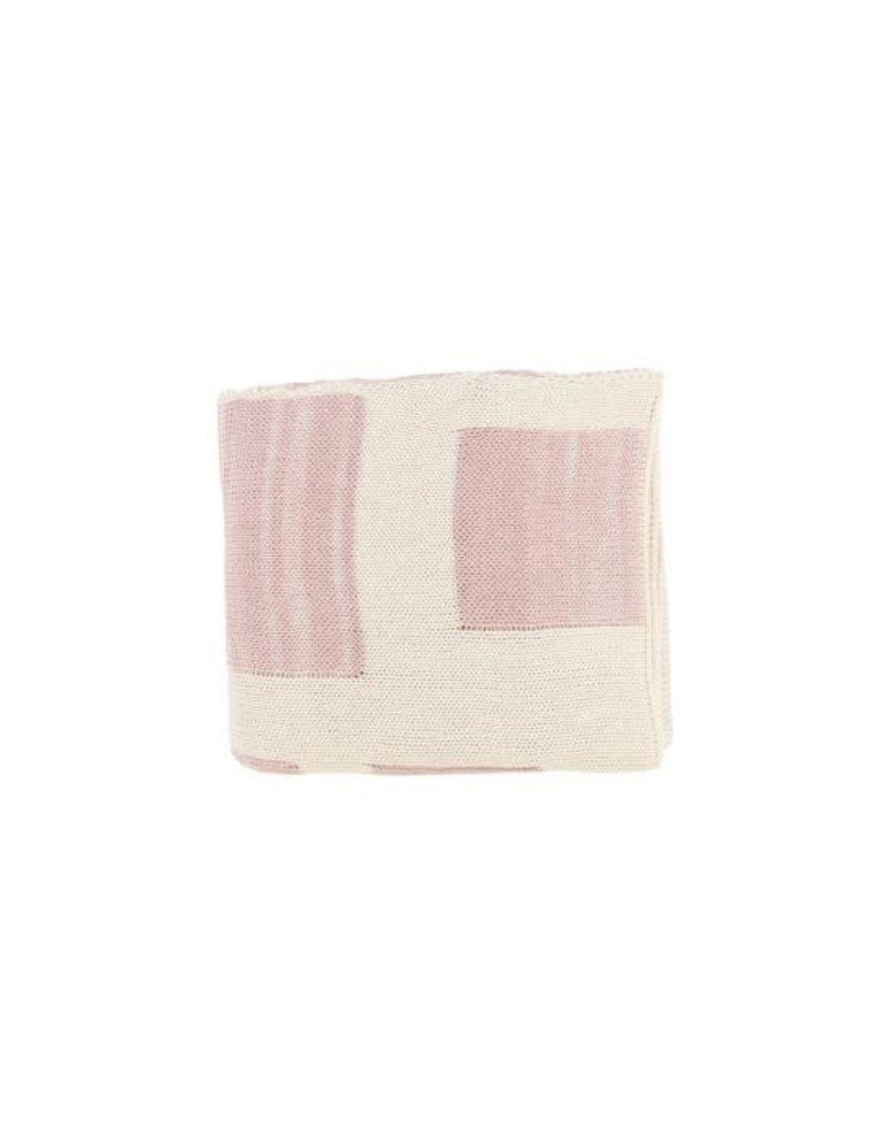 Spool Spool Squares Knit Blanket