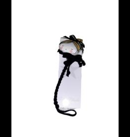 Petite Blonde Petite Blonde Doll Pacifier Clip