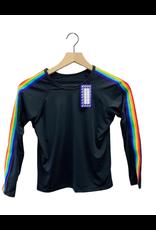 Fanilu Fanilu Stripe Rainbow L/S Tank