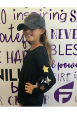 Fanilu Fanilu Star Metallic Long Sleeve