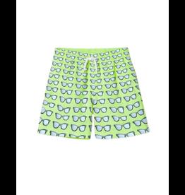 Stella Cove Stella Cove Boys Green Sunglasses Swim Shorts