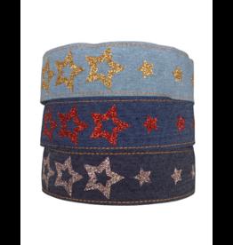 Little Miss Matched Little Missmatch Denim Star Headband