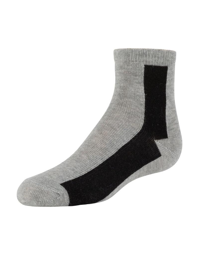 Zubii Zubii Bar Pattern Ankle
