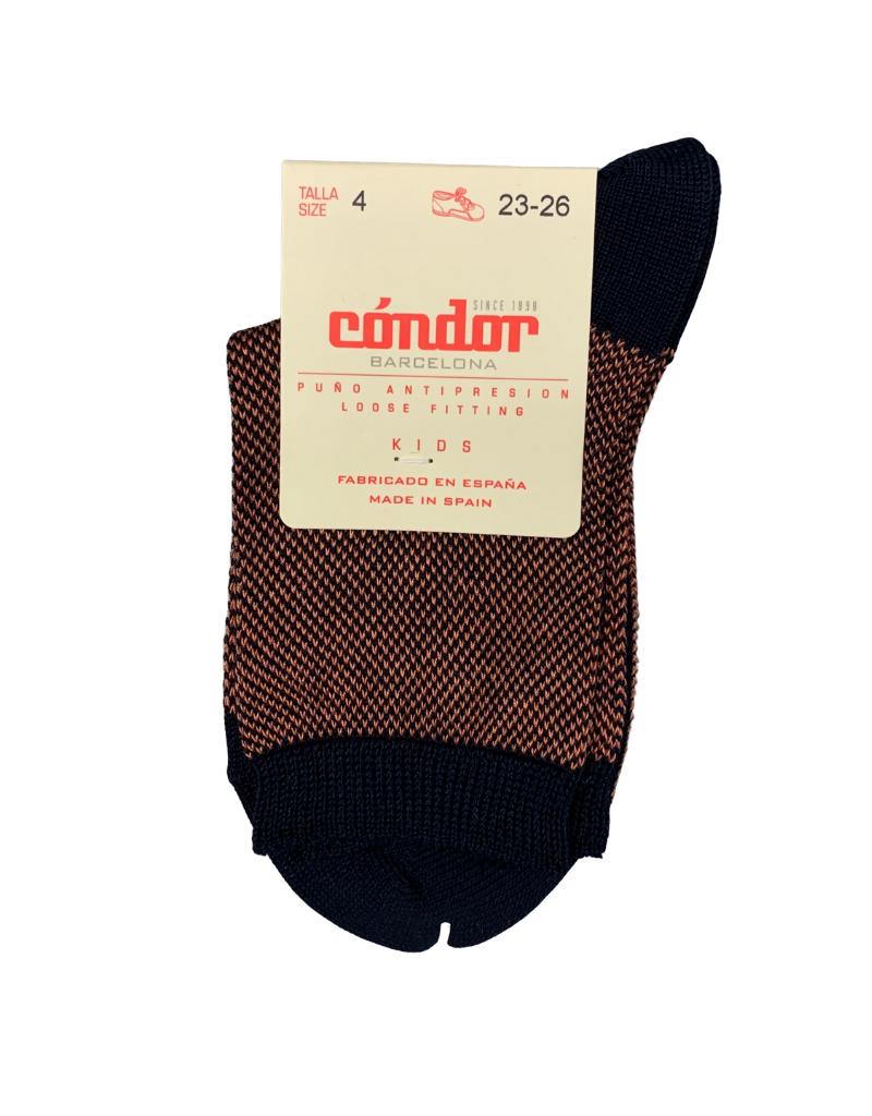 Condor Condor Pique Bicolor Sock- 2349/4