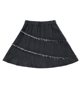 Petit Clair Petit Clair Denim Frayed Skirt (SKR906)