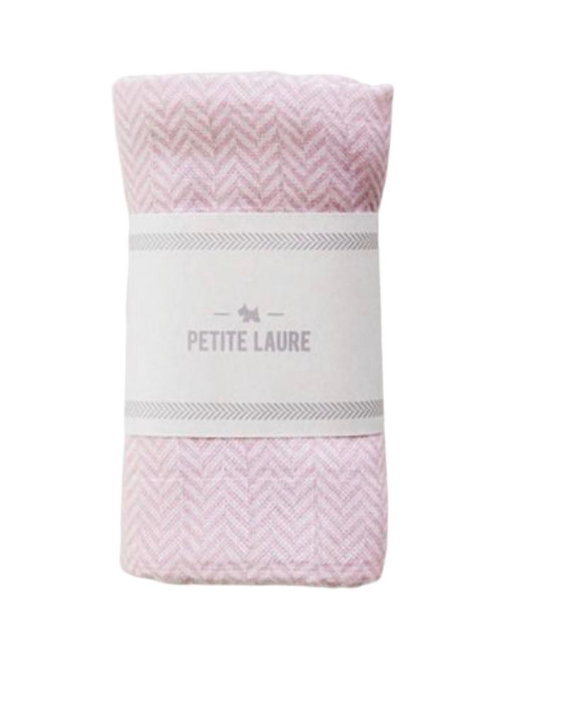 Petite Laure Petite Laure Swaddle Herringbone