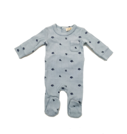 Lux Lux Blueberry Print Romper