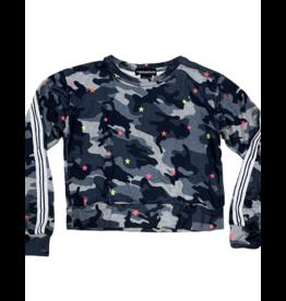 Global Love Global Love Camo Neon Sweatshirt