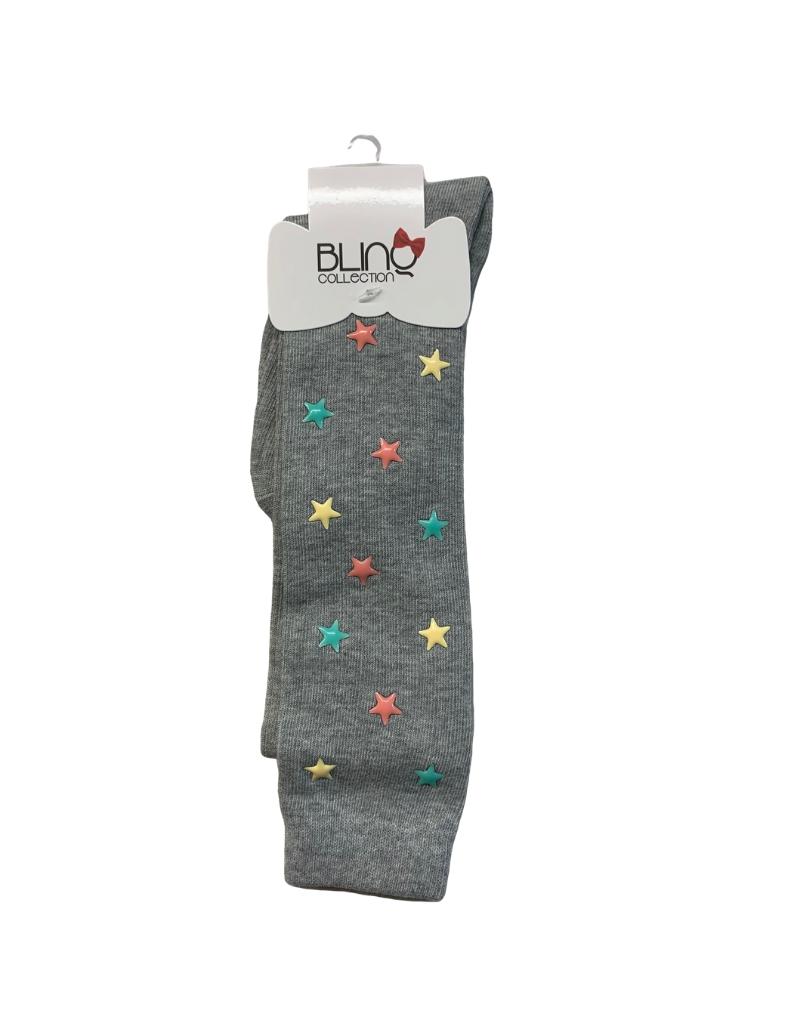 Blinq Blinq Multi-Color Stars Knee High