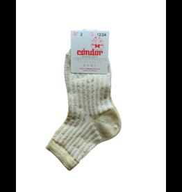 Condor Condor Shimmer Ribbed Crew Sock 3284/4