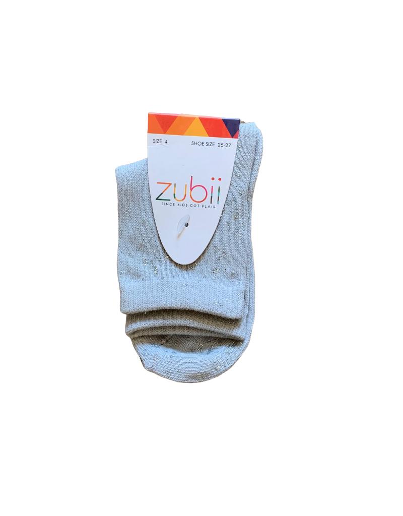 Zubii Zubii Metallic Splash Ankle Sock
