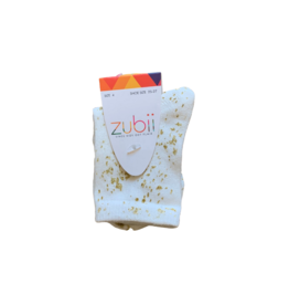 Zubii Zubii Metallic Splash Crew Sock