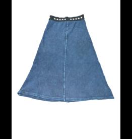 Kiki-O 5 Stars Elastic Waist Maxi Skirt