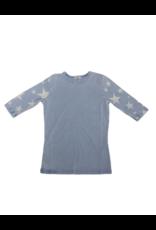 Kiki-O 5 Stars Star Sleeve T-Shirt