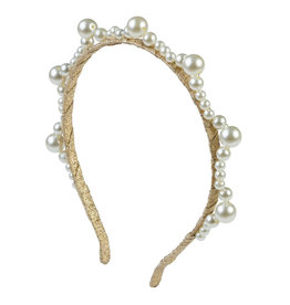 Project 6 Project 6 Triple Cluster Pearl Headband