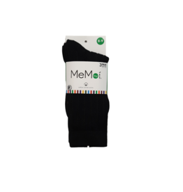Memoi Memoi Boys 3 Pk Ribbed Socks - MK-10950