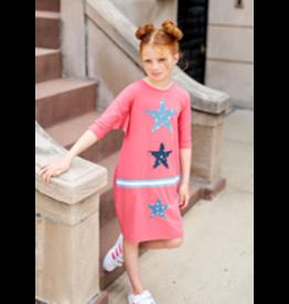 Teela Teela Coral Denim Star Dress