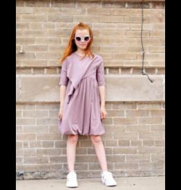 Teela Teela Triangle Clay Solid Dress