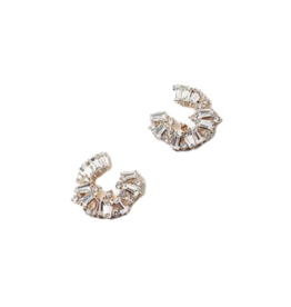 Bitz of Glitz Bitz Mini Bling Stud Earring