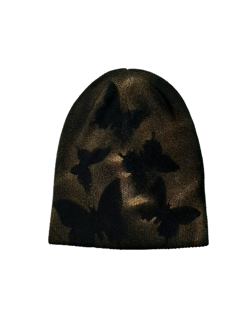 Mad Hatter Mad Hatter Spray Paint Butterfly Beanie