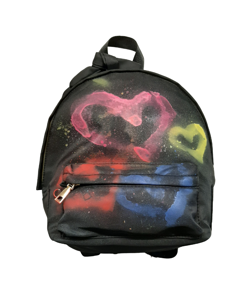 Mad Hatter Mad Hatter Painted Backpack