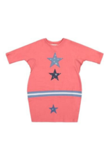 Teela Teela Rib Web Star Patch Dress
