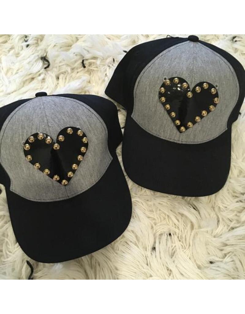 Tal Tal Capsule Heart Colorblock Cap