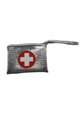Boca Baby Boca Baby Silver Croc Insulated Medical Clutch