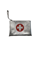Boca Baby Boca Baby Silver Croc Large Insulated Medical Clutch