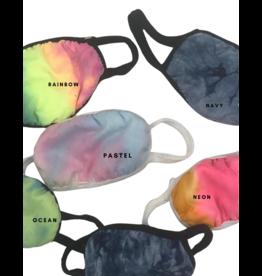 Bari Lynn Bari Lynn Tie Dye Face Mask Kids (5-10yrs)