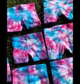 Maya Maya Tie Dye Swirl Shorts