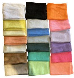 Best Beanies Best Beanies Rainbow Ribbed Flat Band