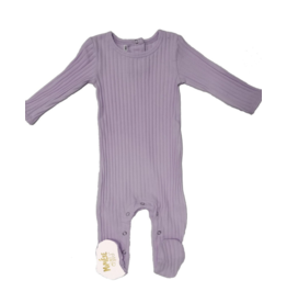 Maniere Maniere Ribbed Cotton Footie -