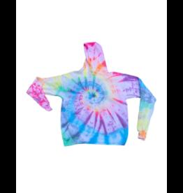 Maya Maya Rainbow Tie Dye Hoodie Sweatshirt