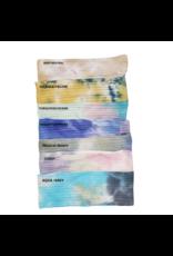 Tal Tal Tropical Tie Dye (Thin) Flat