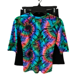 Undercover Waterwear Tie Dye Girls 2 Piece Swimwear